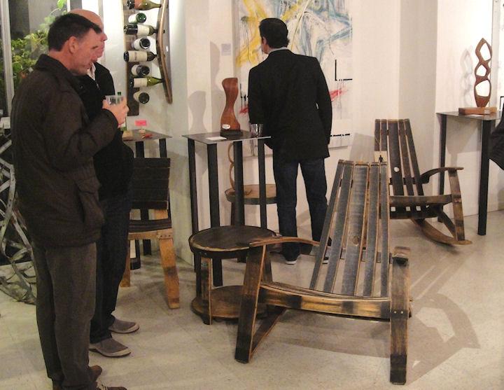 2 day designs wine barrel furniture